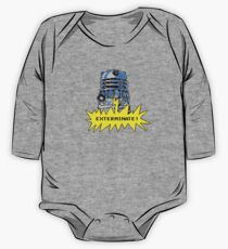 Time And Relative Pixels: Dalek One Piece - Long Sleeve