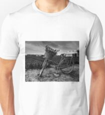 Bicycle At The Tulip Farm Netherlands Unisex T-Shirt