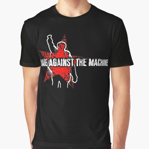 Lo mejor de Rage Against The Machine Band Logo Camiseta gráfica