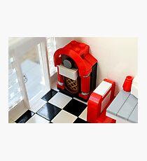 Lego Jukebox Photographic Print