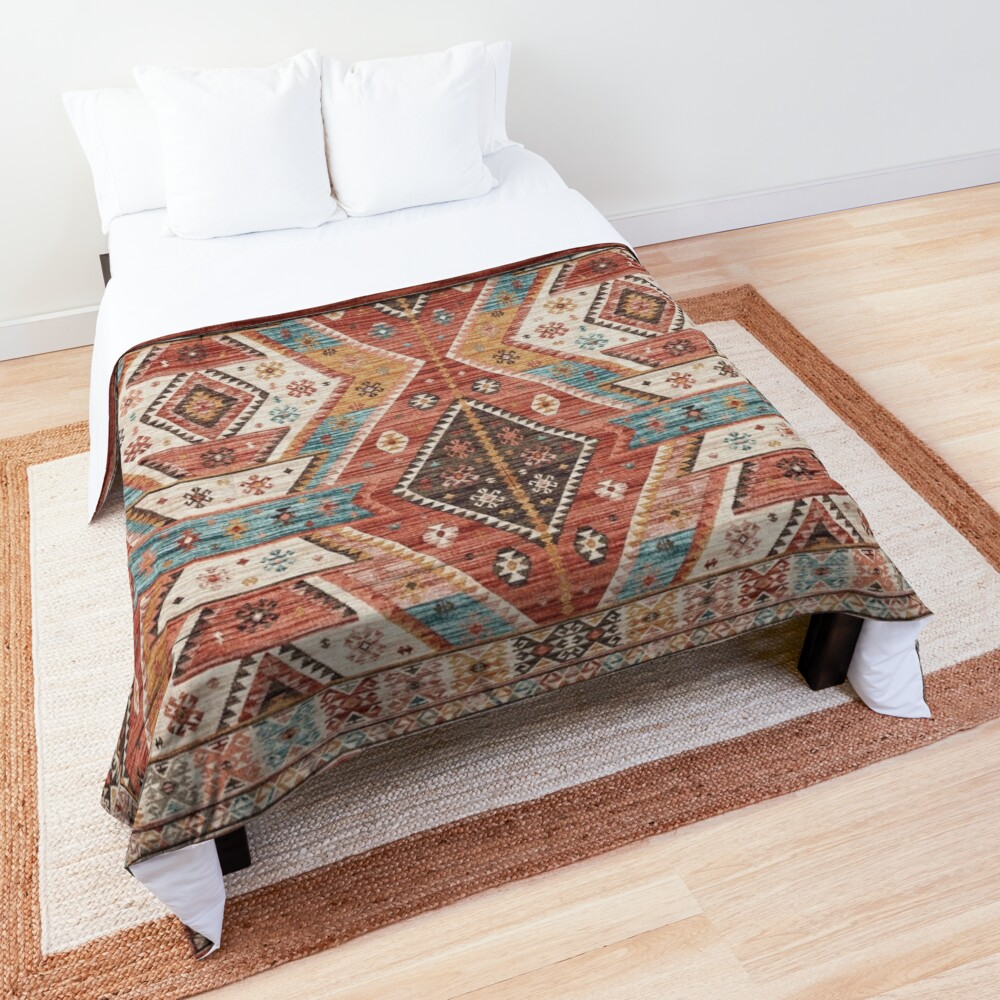 Oriental Heritage Traditional  African Moroccan Style  Comforter