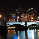 1112 Melbourne at night by DavidsArt