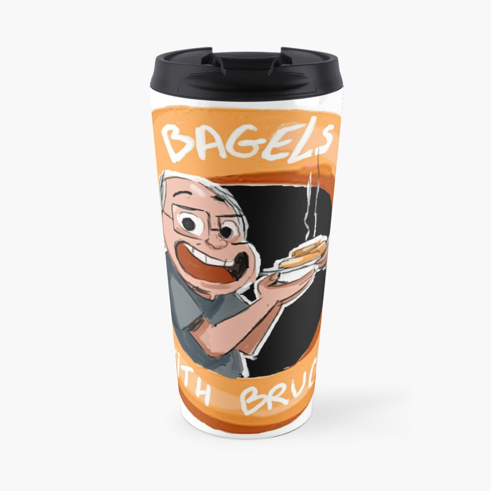 Bagels With Bruce Travel Mug