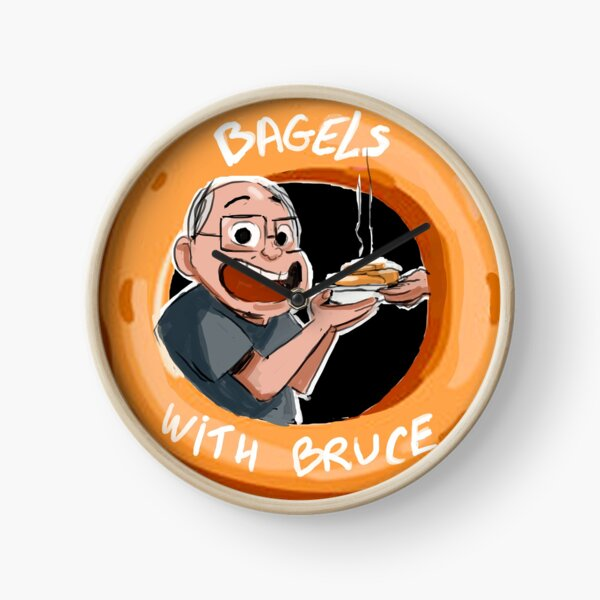Bagels With Bruce Clock