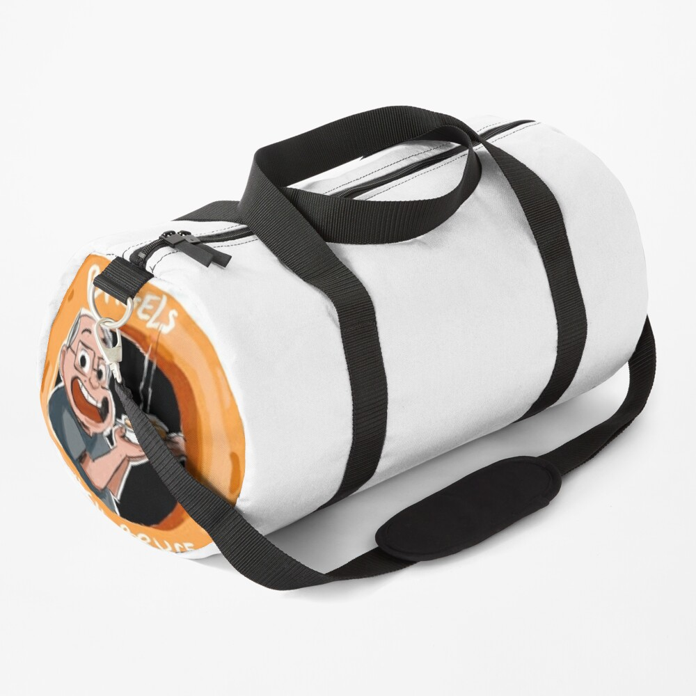 Bagels With Bruce Duffle Bag