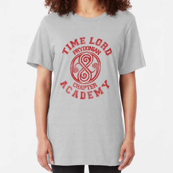 Time Lord Academy Slim Fit T-Shirt