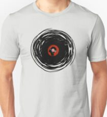 I'm spinning within with a vinyl record... GRUNGE TEXTURE Unisex T-Shirt
