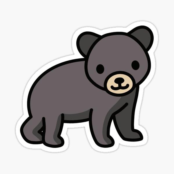 Black Bear Sticker