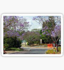 A Brisbane Suburban Street Sticker