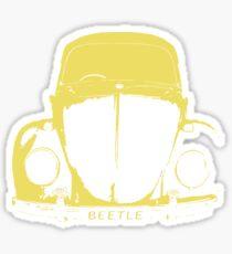 VW Beetle - Yellow Sticker