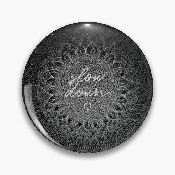 Contemporary Mandalas Track | Slow Down | Black hole Pin