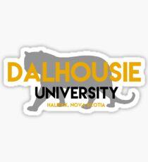 Dalhousie with tiger Sticker