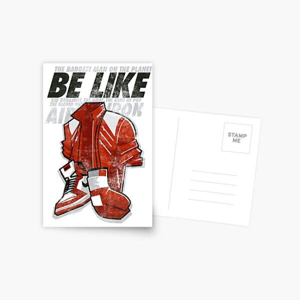 Be Like Mike - 2016 Postcard