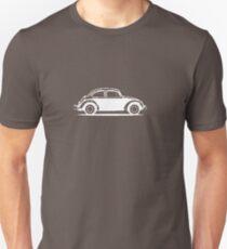 1961 Beetle - White print Unisex T-Shirt