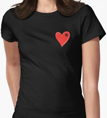 VW Large love heart/VW logo  T-Shirt