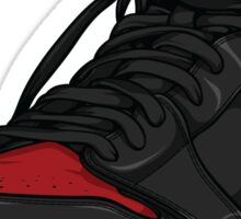 "Air Jordan 1 ""BRED"" Sticker"