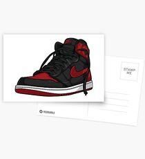 """Air Jordan 1 """"BRED"""" Postcards"""