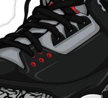 "Air Jordan 3 (III) ""BLACK & CEMENT"" Sticker"