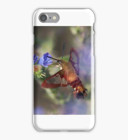 Hummingbird Clearwing Moth iPhone Case/Skin