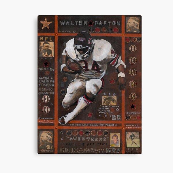 Walter Payton Canvas Print