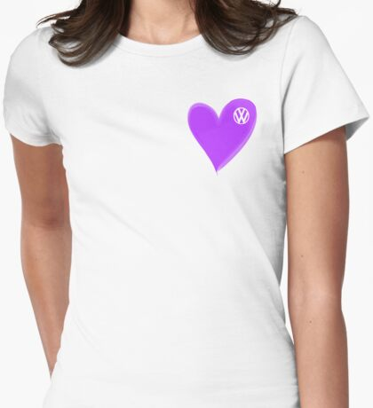 VW Heart Purple shirt T-Shirt