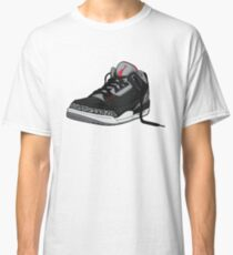 "Air Jordan 3 (III) ""BLACK & CEMENT"" Classic T-Shirt"