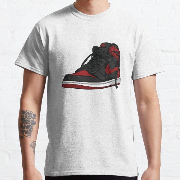 """Air Jordan 1 """"BRED"""" T-shirt classique"""