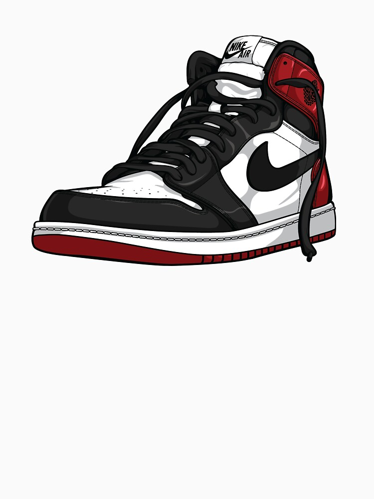 "Air Jordan 1 ""BLACK TOE"" by RSands"