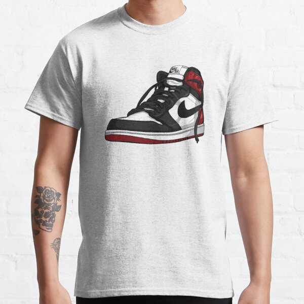 "Air Jordan 1 ""BLACK TOE"" Classic T-Shirt"