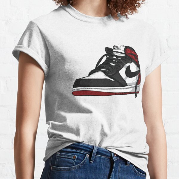"Air Jordan 1 ""BLACK TOE"" T-shirt classique"