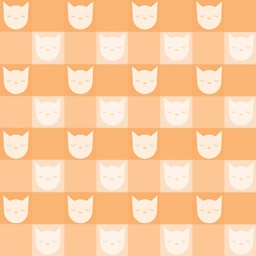 Smitten With Kittens (Orange) by petitecitrus