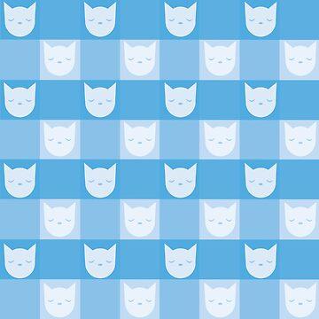 Smitten With Kittens (Blue) by petitecitrus