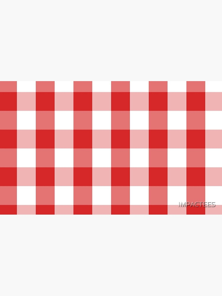 GINGHAM-RED by IMPACTEES