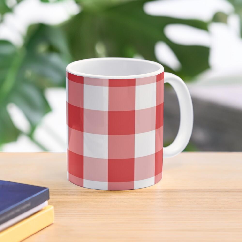 GINGHAM-RED Mug