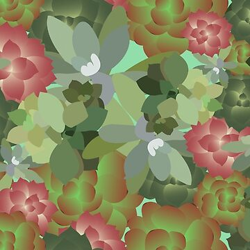 Succulent Succulents by petitecitrus