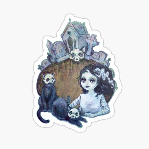 We Belong Dead Sticker