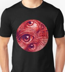 Third eye in a perfect circle.  Unisex T-Shirt