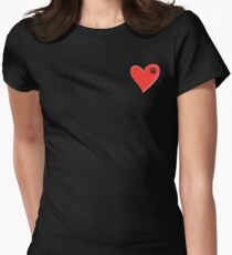 VW Kombi small loveheart/vw logo  T-Shirt