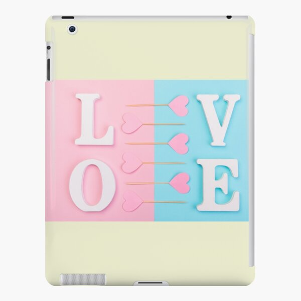 The shape of love iPad Snap Case