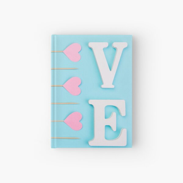 The shape of love Hardcover Journal