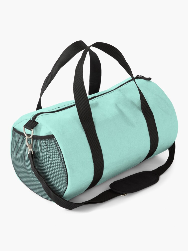 Alternate view of Don't Touch My Gym Bag PCOS workout exercise Duffle Bag
