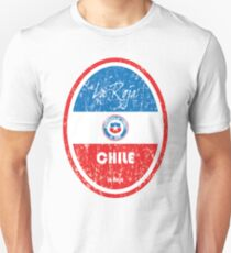 Football - Chile (Distressed) Unisex T-Shirt