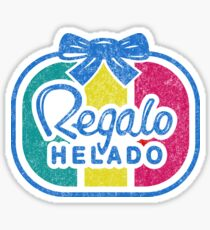 Regalo Helado Sticker