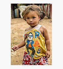 Village Girl Photographic Print