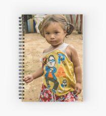 Village Girl Spiral Notebook