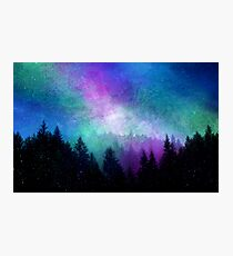Aurora Borealis Night Sky Photographic Print
