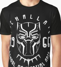 T'challa's School of Martial Arts Graphic T-Shirt