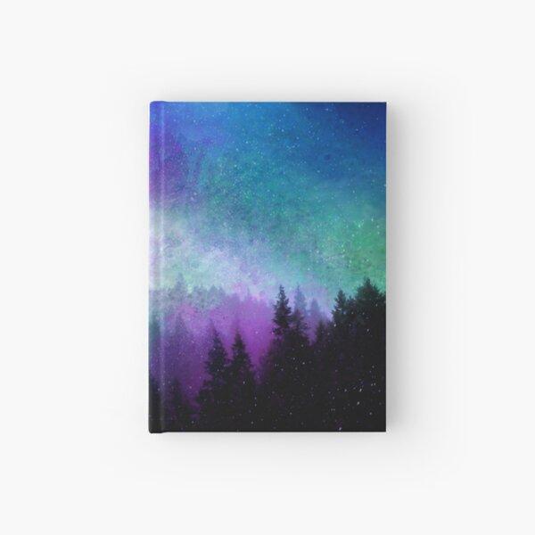 Aurora Borealis Night Sky Hardcover Journal