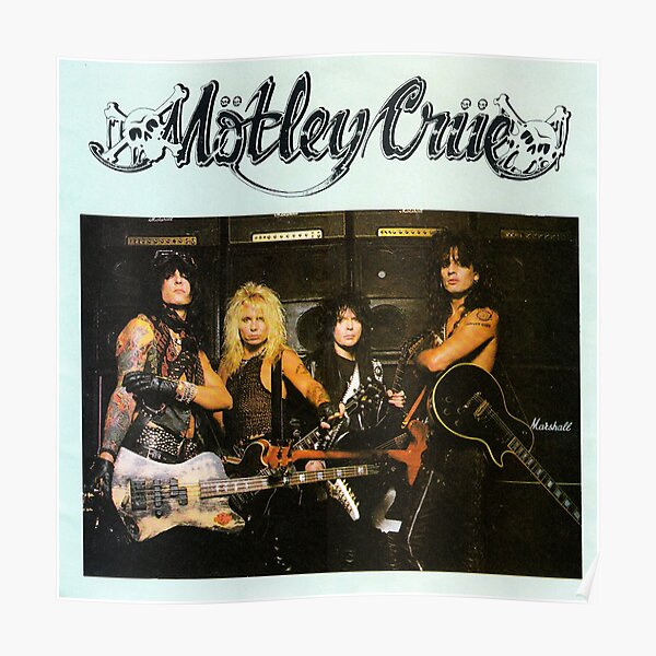 Groupe Motley Crue Poster