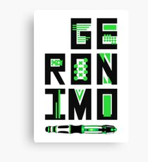 Geronimo!  Canvas Print